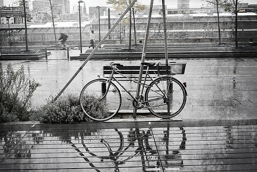 Rainy Bicycle by Paris Color