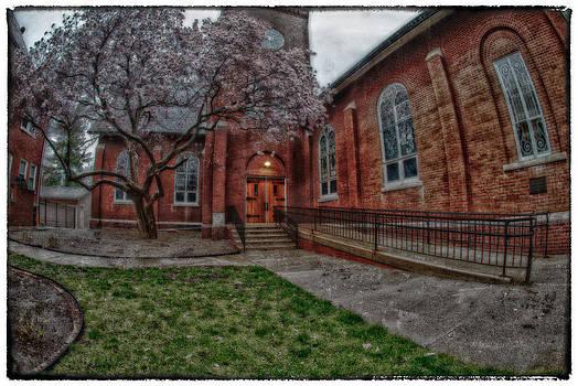 Rainy Church by Kimberleigh Ladd