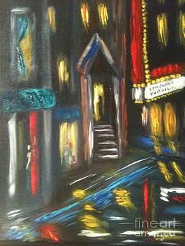 Rainy City by Phyllis Norris