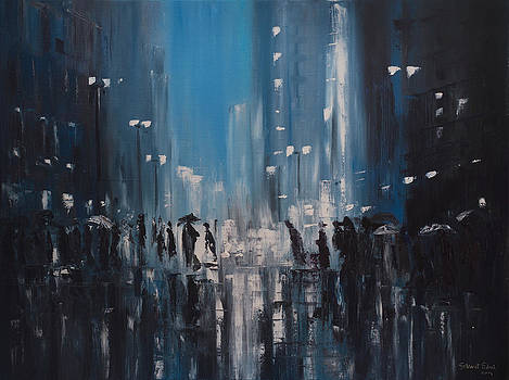 Rainy City by Salavat Fidai