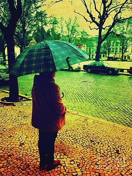 Rainy Day in Coimbra by Gustavo D'Andrea