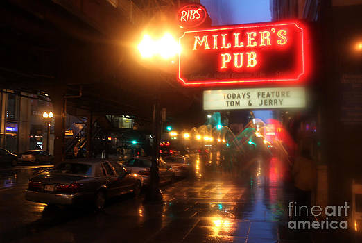 Gregory Dyer - Rainy Night in Chicago