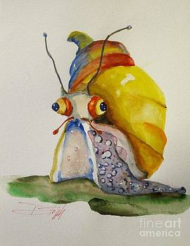 Ralph the Snail by Delilah  Smith