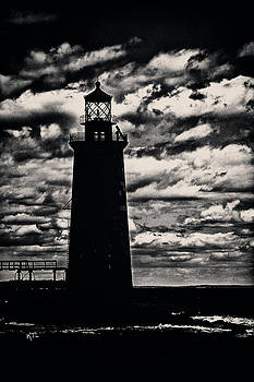 Karol Livote - Ram Island Ledge Light