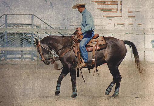 Kae Cheatham - Ranch Horse being Schooled