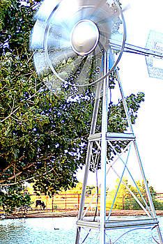 Ranch Windmill by Kasie Morgan
