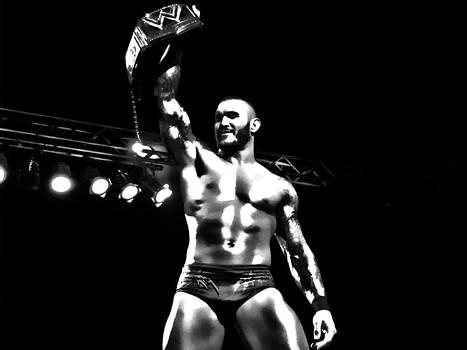 Randy Orton BW HDR by Anibal Diaz