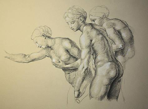 Raphael Reproduction by Rachel Hames