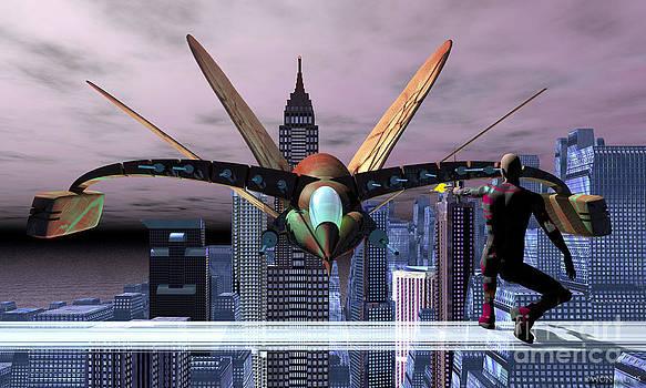 Walter Oliver Neal - Raptor Ascending