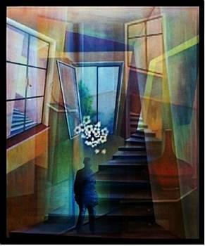 Raumirritation 20 A by Gertrude Scheffler