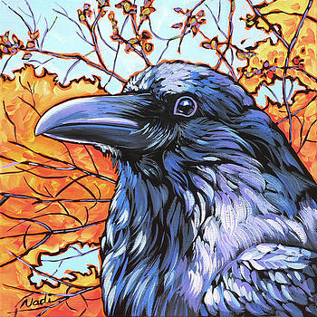 Raven Head by Nadi Spencer