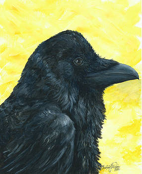 Raven Yellow by Christine StPierre