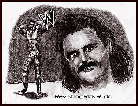 Chris  DelVecchio - Ravishing Rick Rude