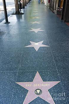 David Zanzinger - Ray Bradbury hollywood walk of fame celebrity star