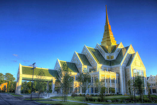 Raynham Thai Buddhist Temple by David Simons