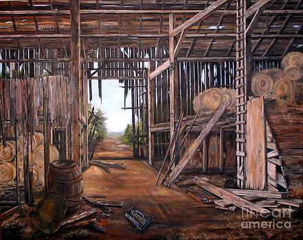 Reads Barn Hwy 124 by Anna-maria Dickinson