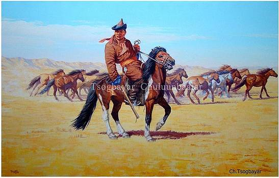 Real Man of Mongolia 2 by Tsogbayar Chuluunbaatar