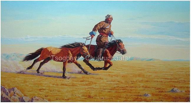 Real Man of Mongolia by Tsogbayar Chuluunbaatar