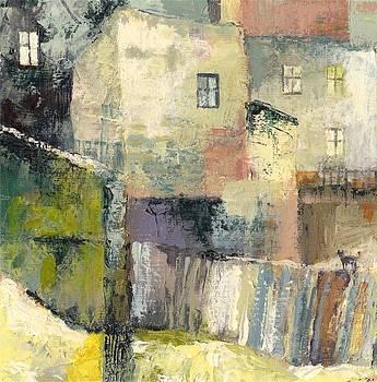 Rear of Tenement Houses by Milena Gawlik