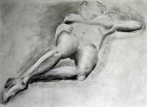Reclining by Larry Edwards