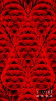 Andee Design - Red Abstract 2
