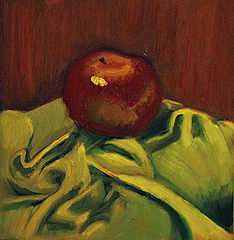 Red Apple by GuoJun Pan