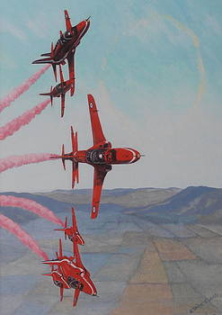 Elaine Jones - Red Arrows