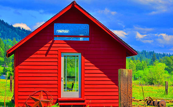 Red Barn by Emelyn McKitrick
