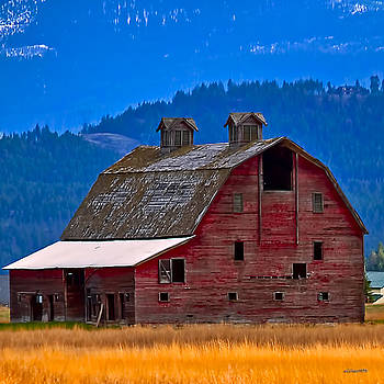 Red Barn by Jim Lucas