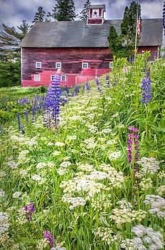 Thomas Schoeller - Red Barn - Sugar Hill