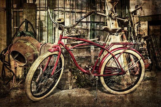 Debra and Dave Vanderlaan - Red Bike