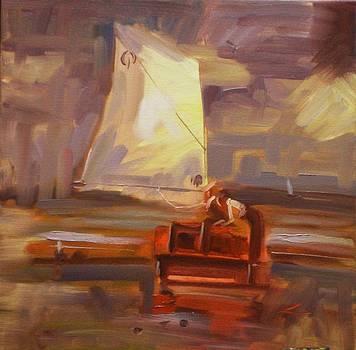 Red Boat by Elena Sokolova