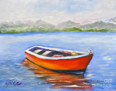 Red Boat by Gracie Hampton