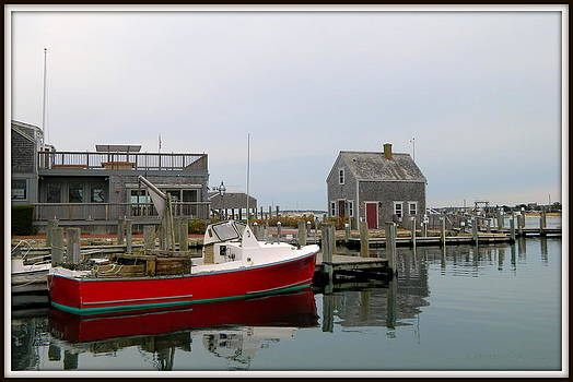 Red Boat by Kathy Barney