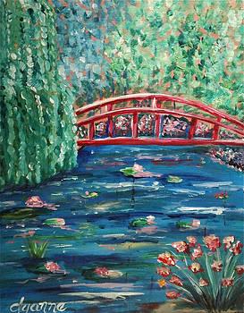 Red Bridge by Dyanne Parker