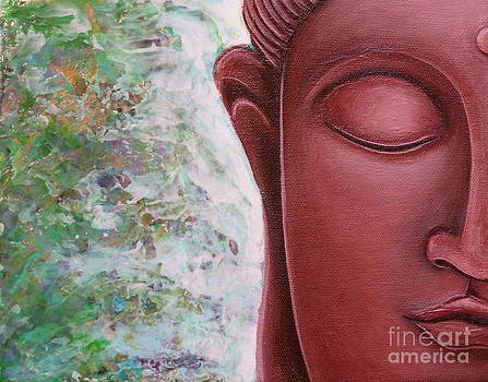 Red Buddha by Gayle Utter