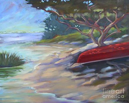 Red Canoe Salt Run by Teri Tompkins
