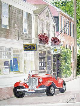 Red Car by Carol Flagg