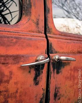 Red Car Door by Diana Shay Diehl