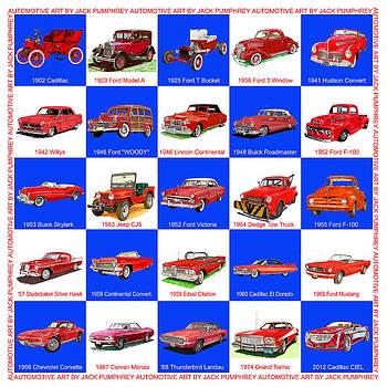 Jack Pumphrey - RED CARS of AMERICA