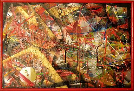 Red Circuit Boards by James Howard