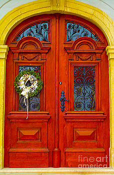 Red Door by Ann Johndro-Collins