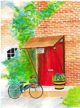 Red Door by David Bartsch