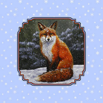 Crista Forest - Red Fox Snowflakes