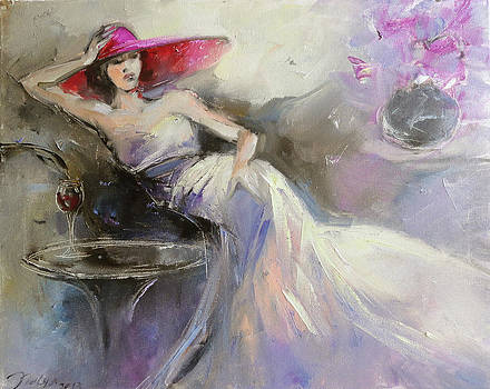 Red Hat Society by Nelya Shenklyarska