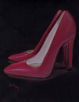 Red Heels by Kelly Mills