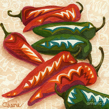 Red Hot Too by Vikki Wicks