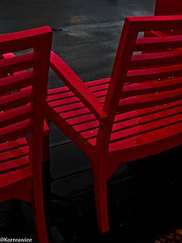 Red invitation by Kornrawiee Miu Miu