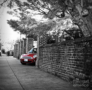 Red Mini Cooper- The Debut by Nancy Dole McGuigan