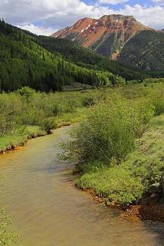 Mike McGlothlen - Red Mountain Creek - Colorado